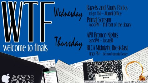 WTF: Welcome to Finals